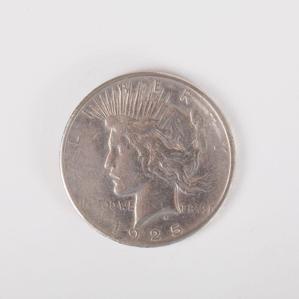 1925 Liberty Peace Silver Dollar