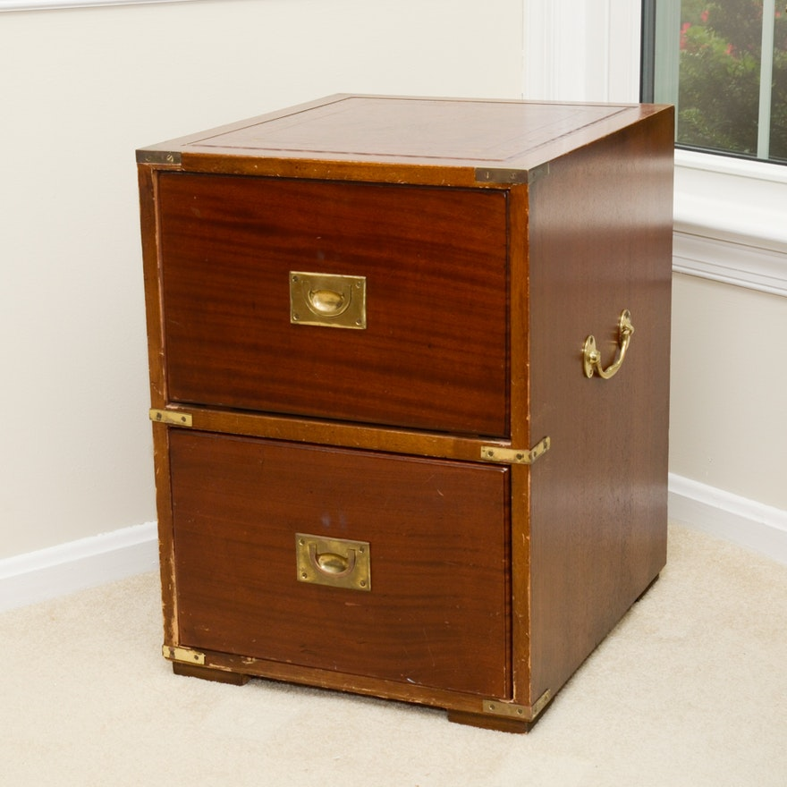 Campaign Style Filing Cabinet
