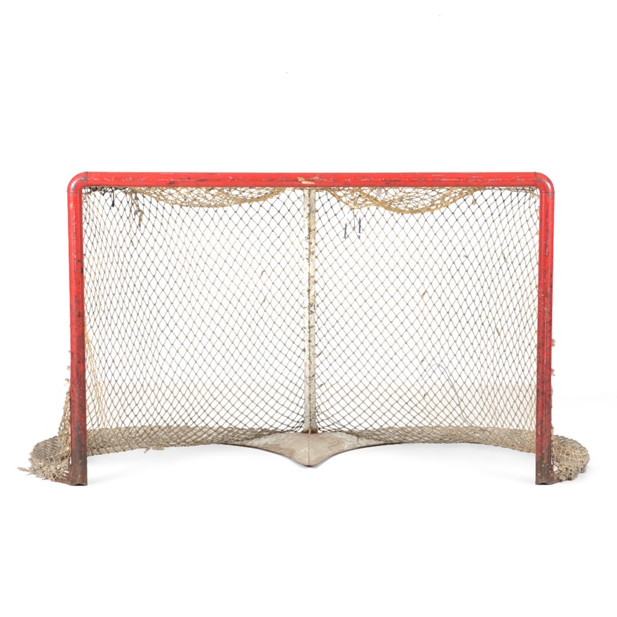 Vintage Hockey Goalie Net Ebth