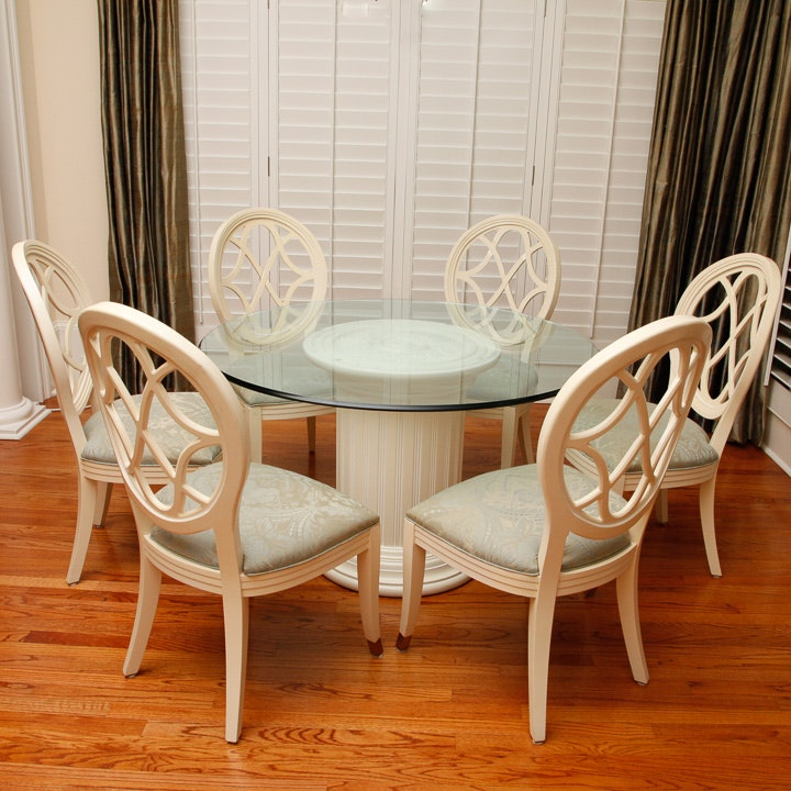 Delicieux Century Villa Domain Pedestal Dining Table And Chairs ...