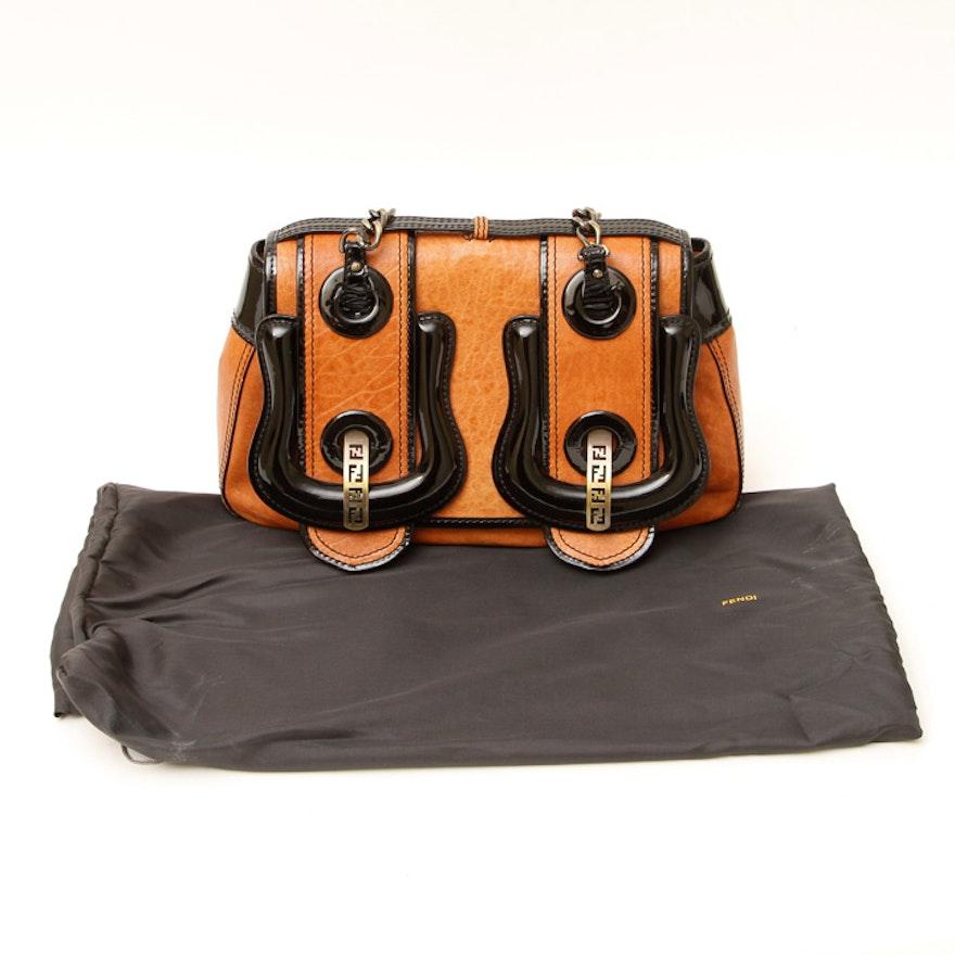 1c158149e92a Fendi Tan Nappa Leather B Bag   EBTH