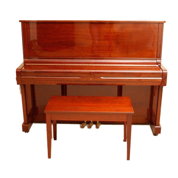 Yamaha Upright Cherry Piano