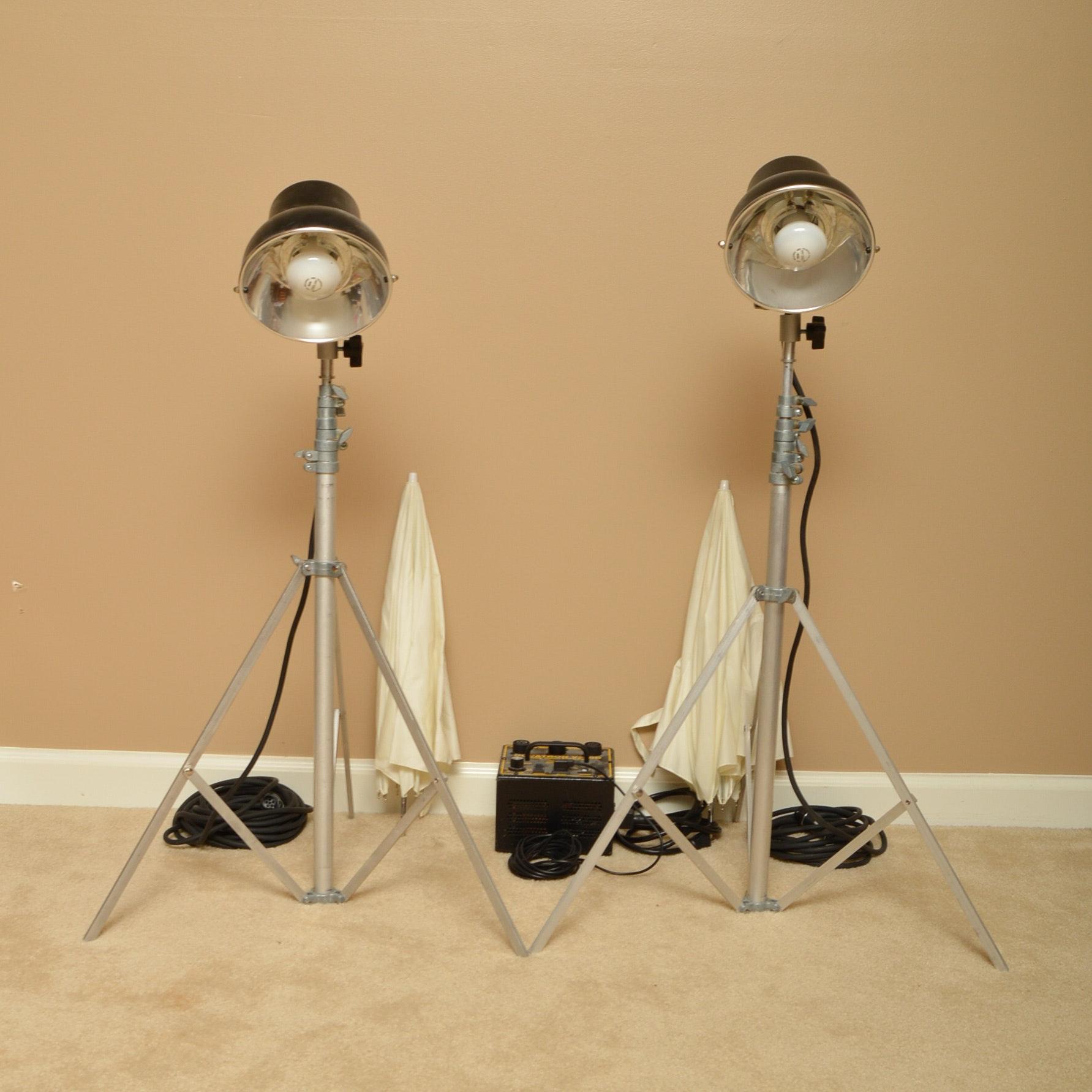Novatron V240D Lighting Kit ... & Novatron V240D Lighting Kit : EBTH azcodes.com