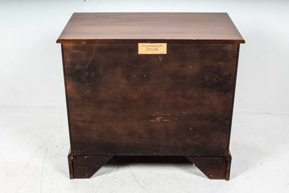 Chippendale Style Cherry Bachelor S Chest By Henkel Harris
