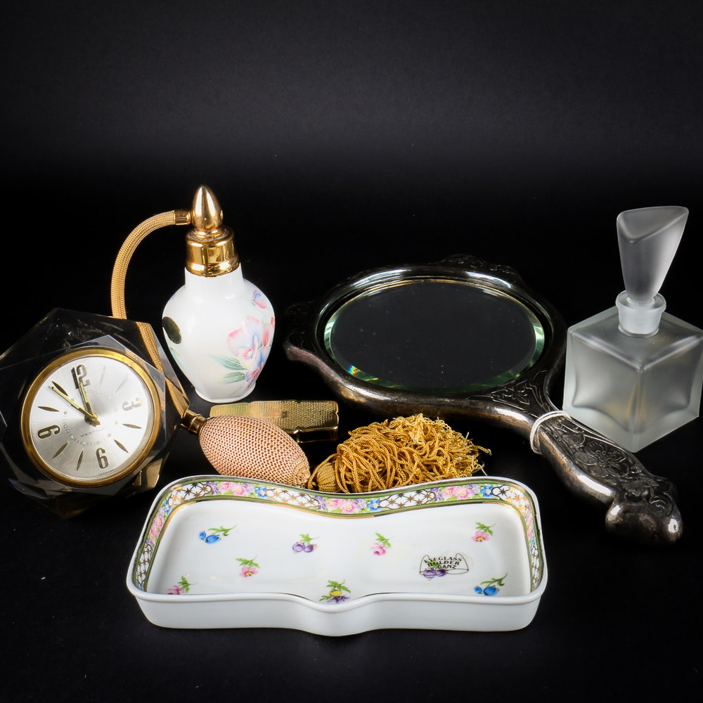 Collection of Vintage Vanity Items