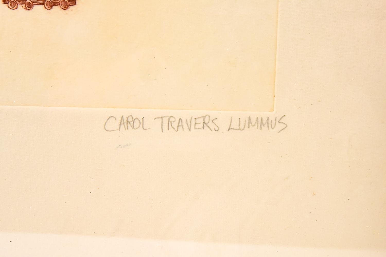 Carol Travers Lummus Artists Proof Lithograph Ebth