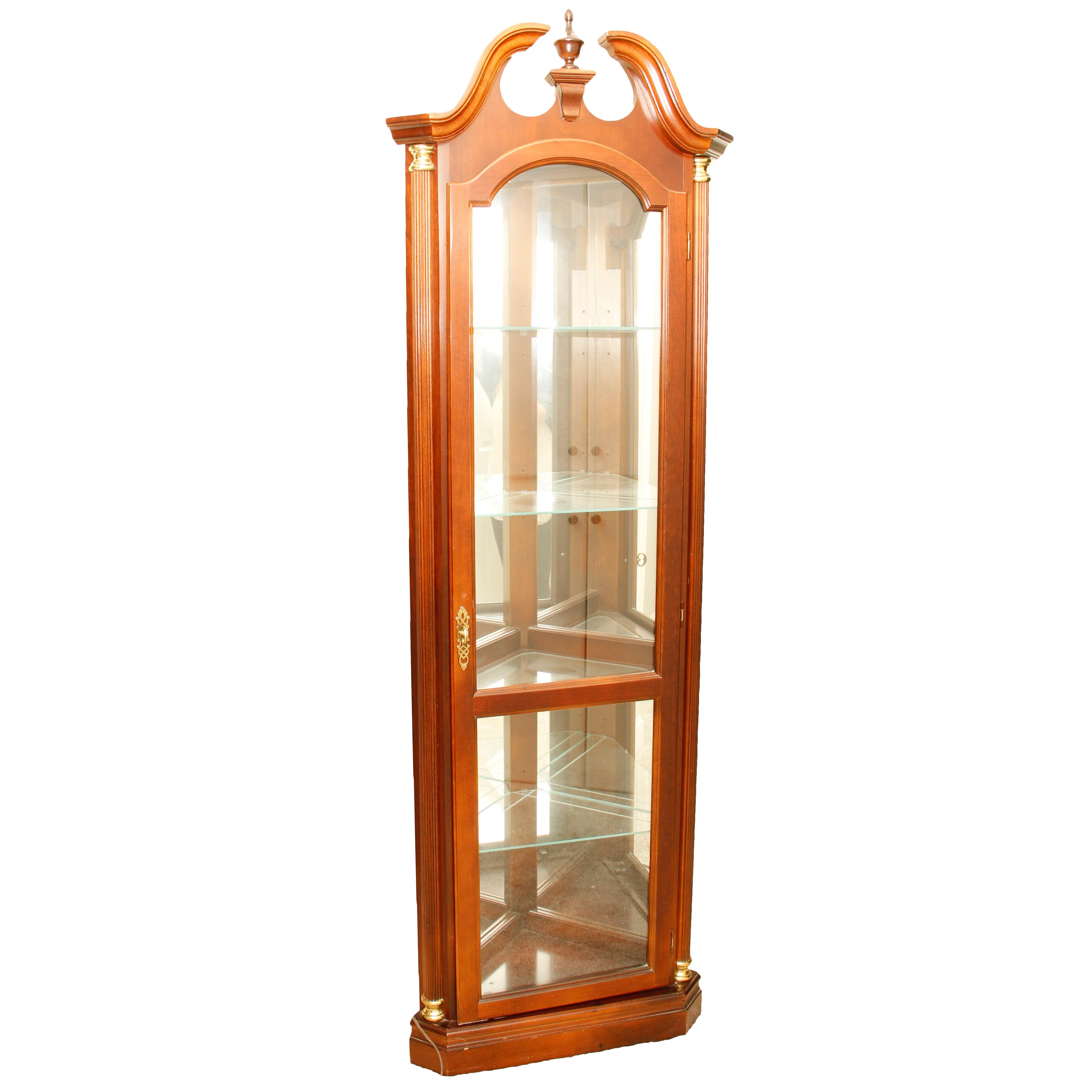 Pulaski Furniture Corner Curio Cabinet ...