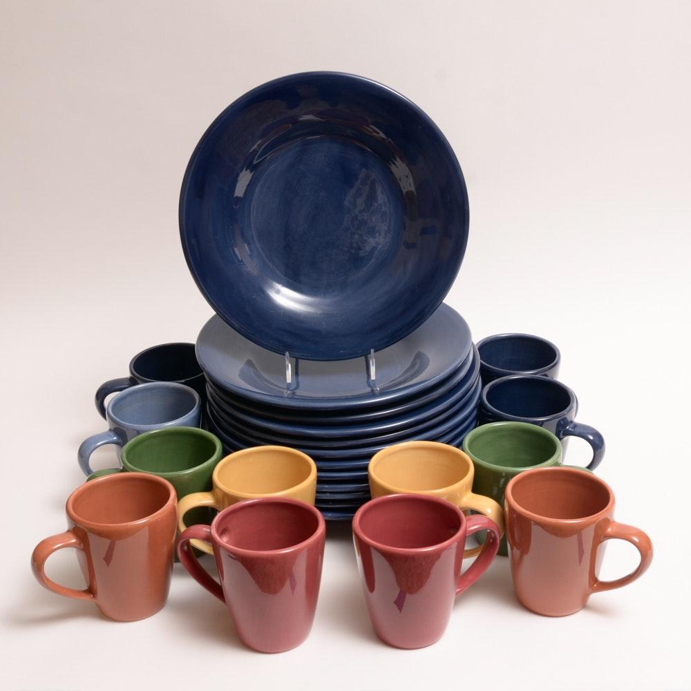 Pottery Barn  Sausalito  Plates ... & Pottery Barn