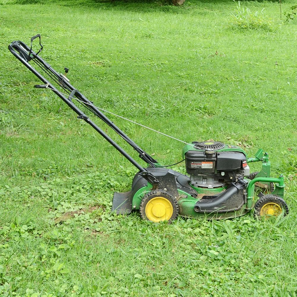 John Deere Model Js40 Self Propelled Lawn Mower Ebth