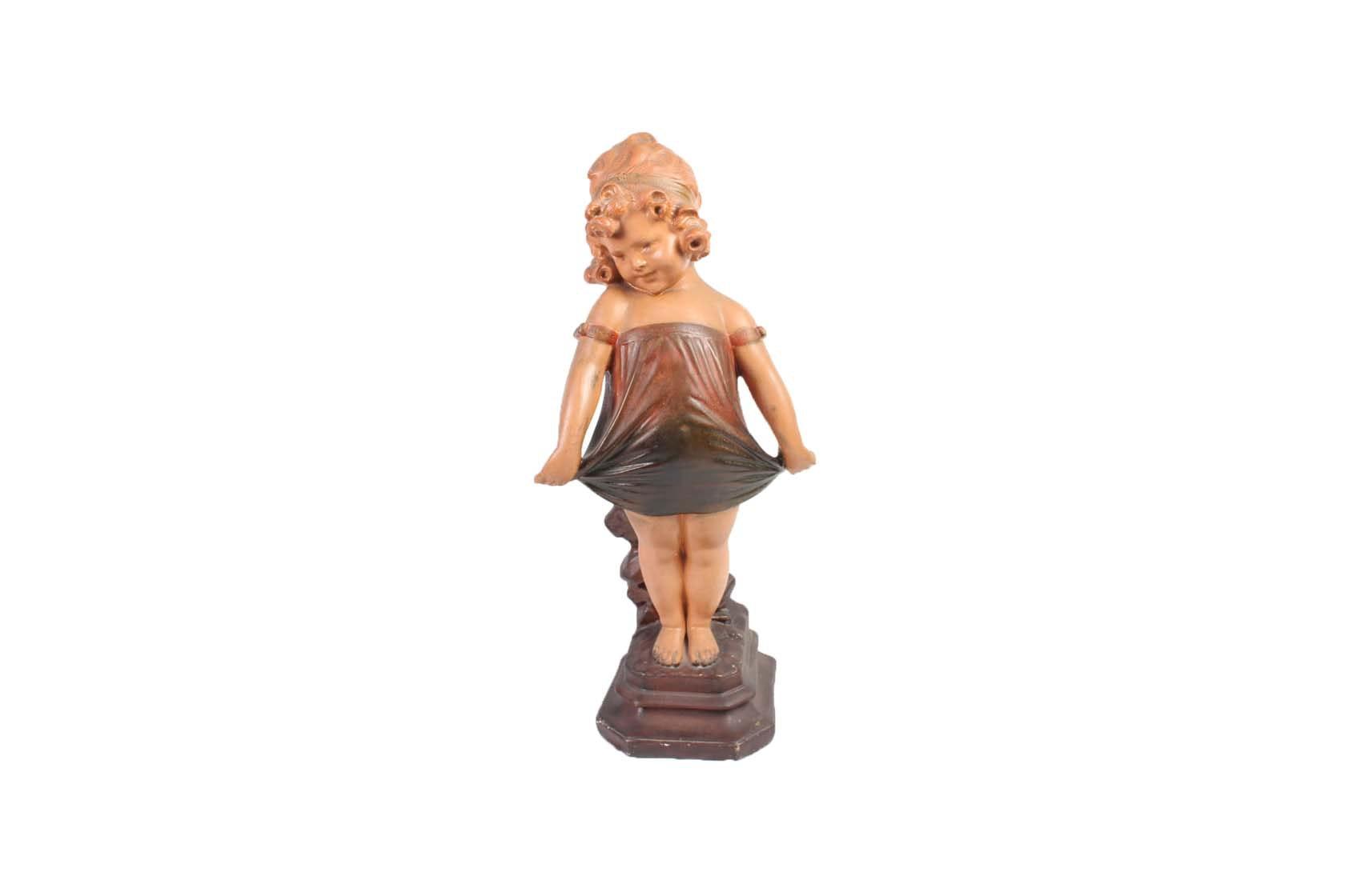 Shirley Temple Chalk Statue