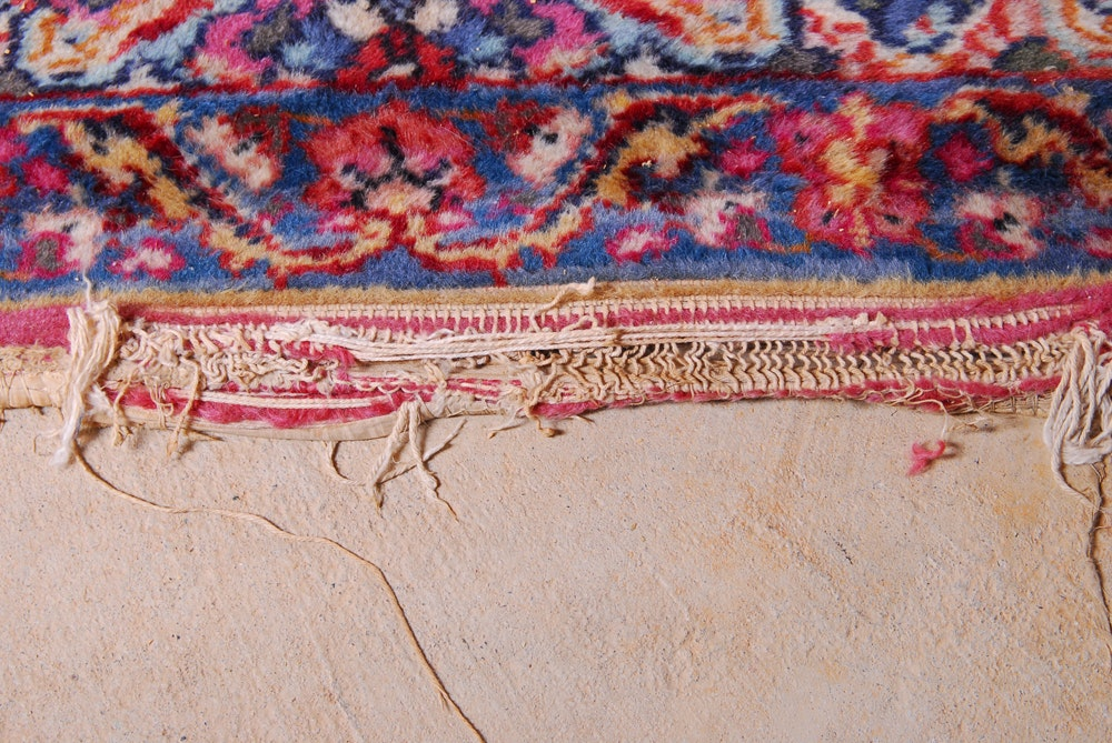 Karastan Quot Kirman Quot Wool Room Sized Area Rug Ebth