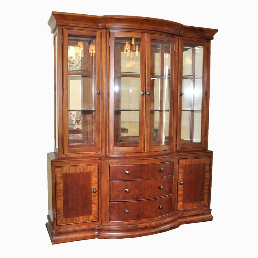 Ashley Furniture Mirrored China Cabinet Ebth