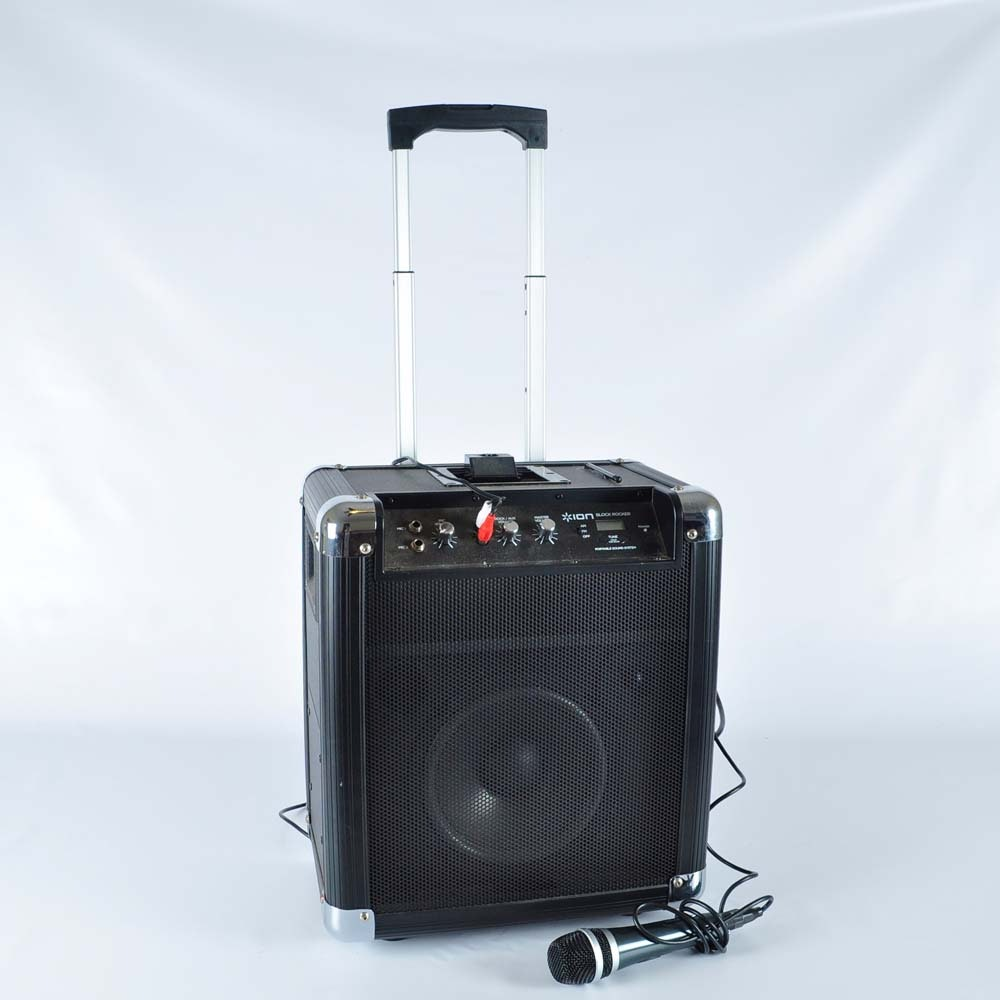 ion karaoke machine