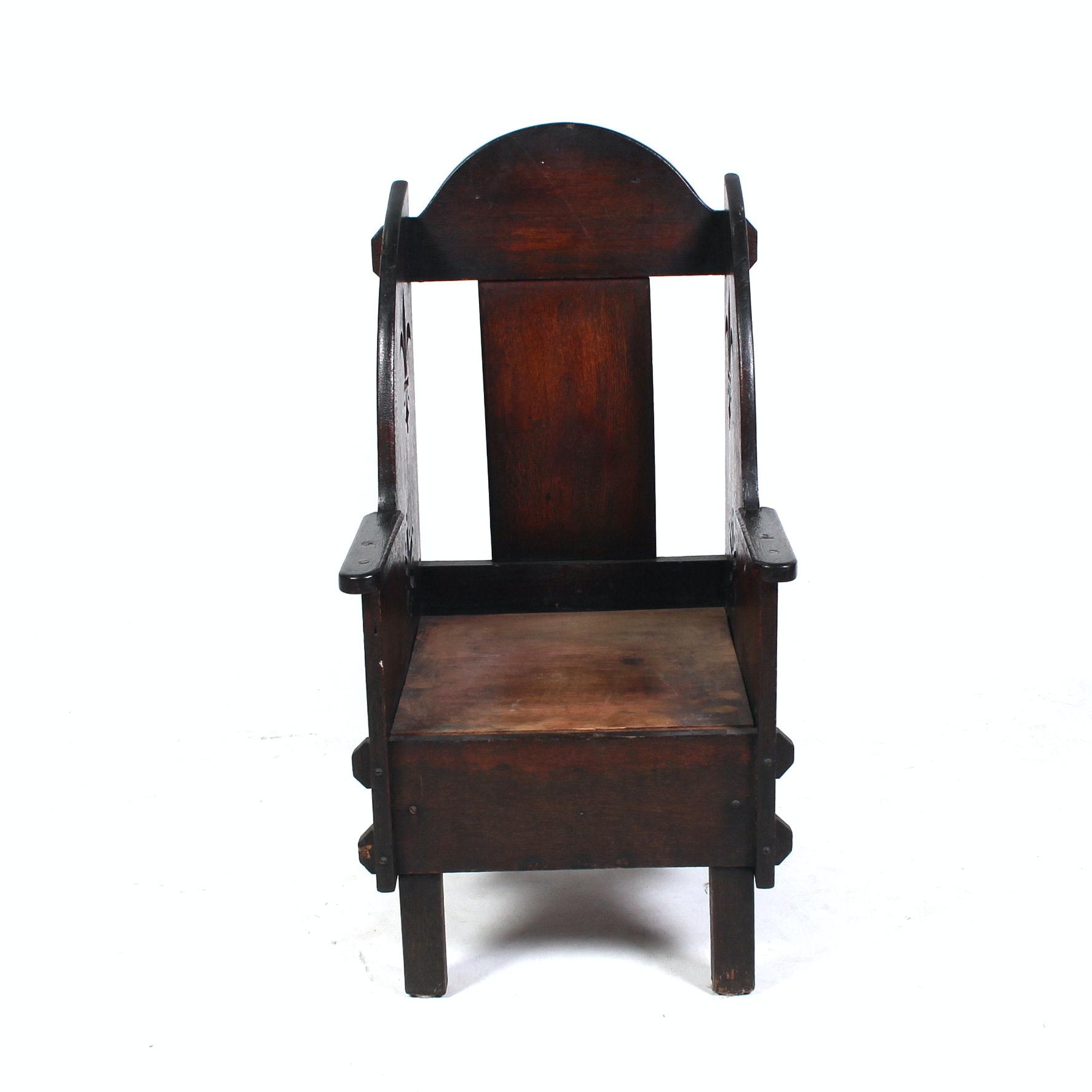 Antique Netherlandic Chair