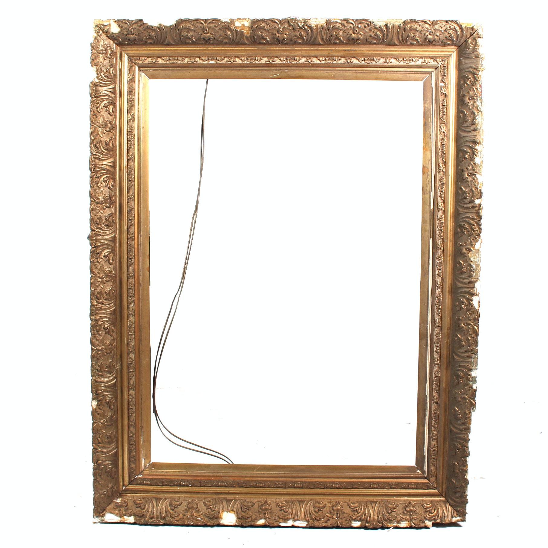Ornate Gold Tone Frame