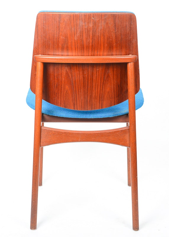 Three Mid Century Modern Dining Chairs By Arne Hovmand