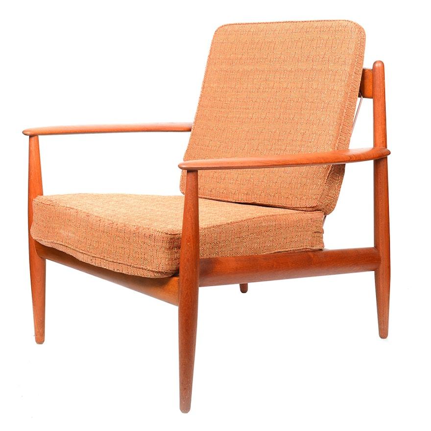 Mid-Century Modern Danish John Stuart Teak Chair : EBTH