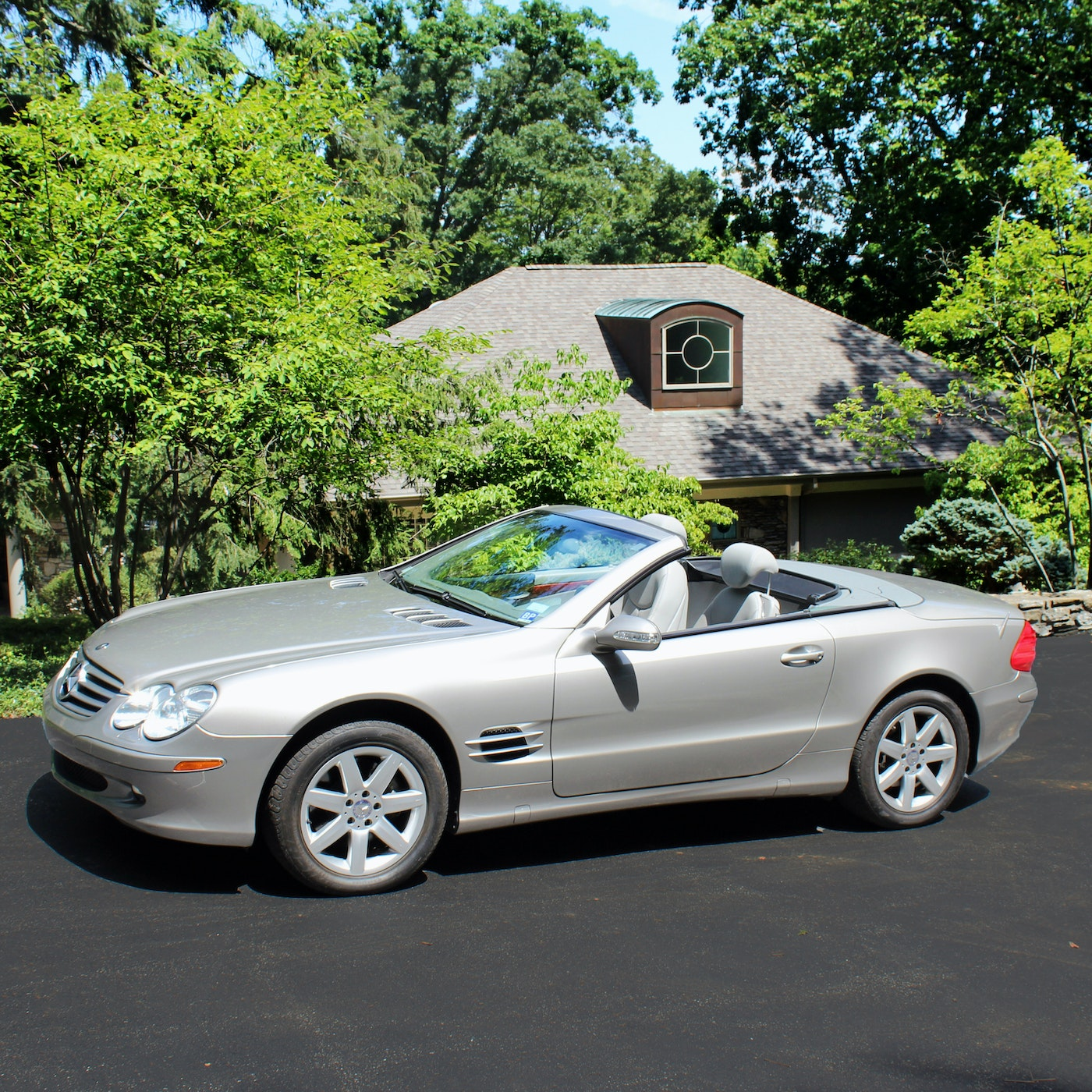 2003 mercedes benz 500 sl roadster convertible coupe ebth for Mercedes benz 500 convertible