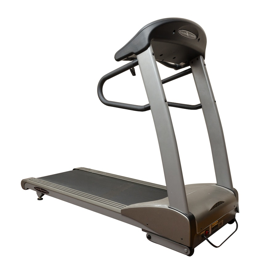 vision fitness t9500 treadmill owners manual