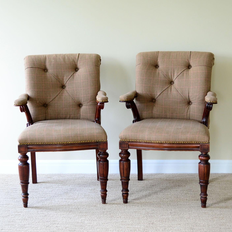 Pair of Ralph Lauren Armchairs