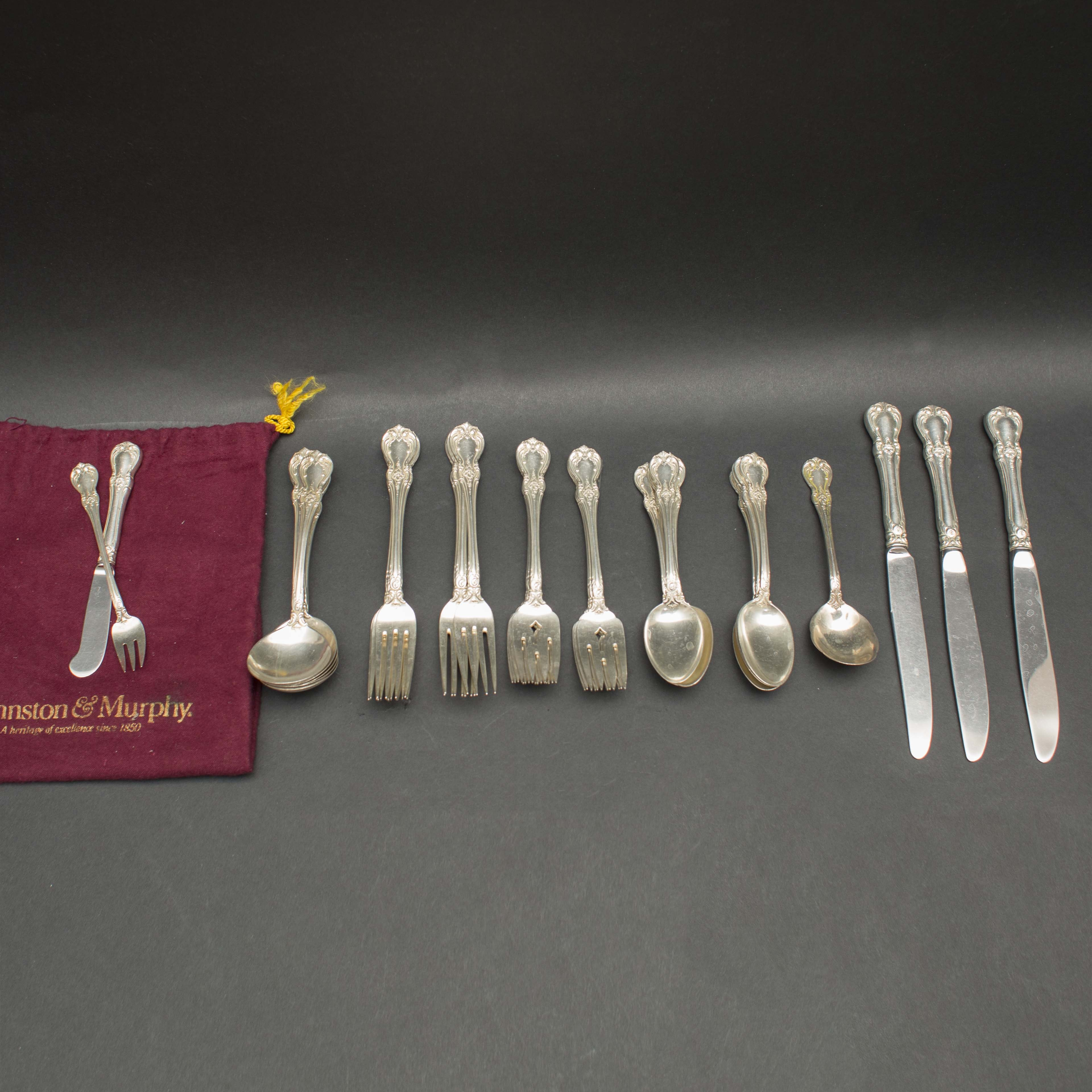 "Towle ""Old Master"" Sterling Silver Flatware Collection"