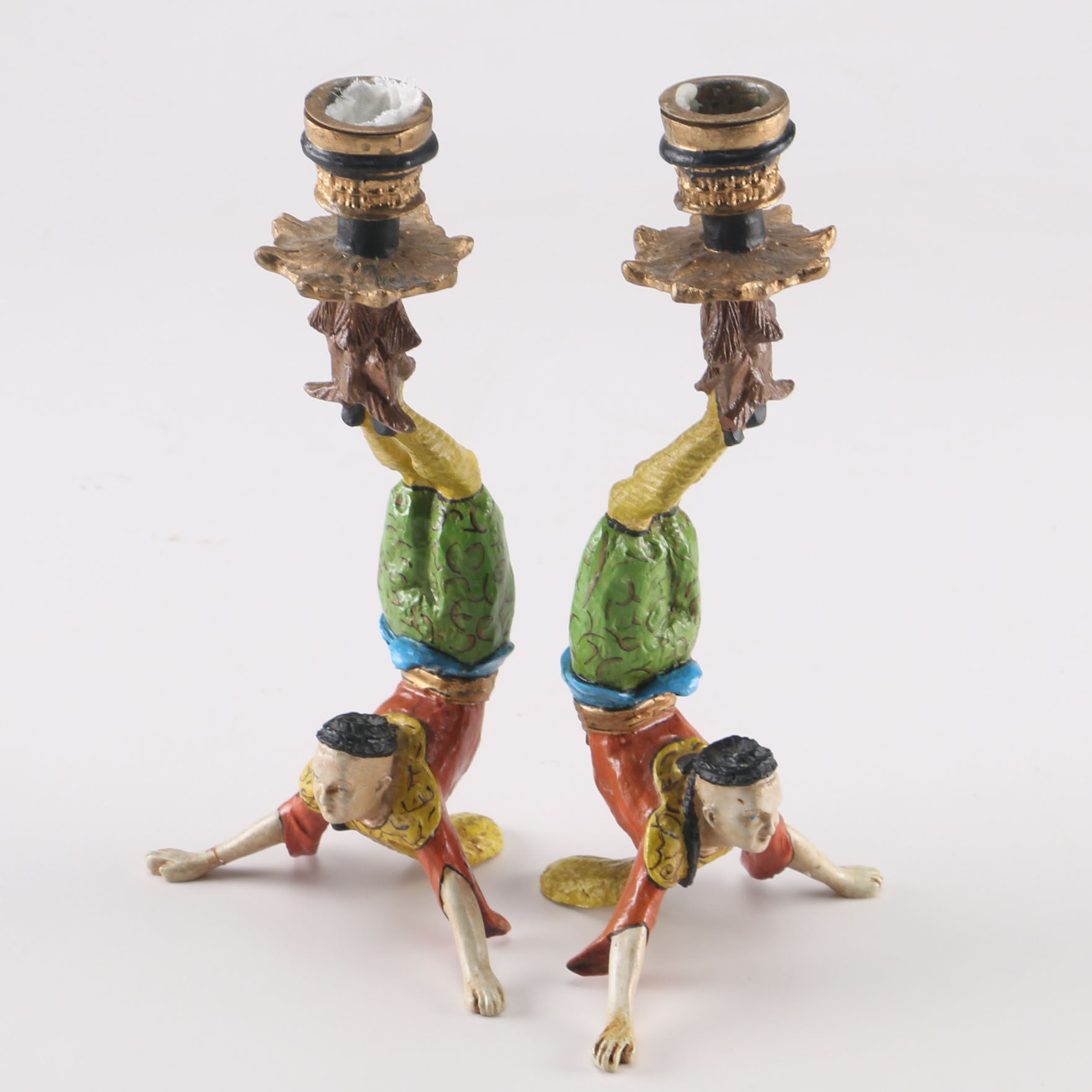 Acrobatic Candle Holders