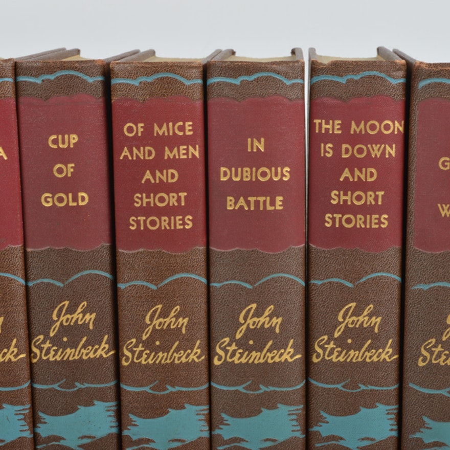 john steinbeck novels in order