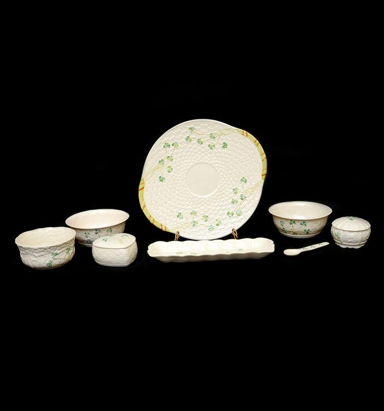 Collection of Belleek Irish China