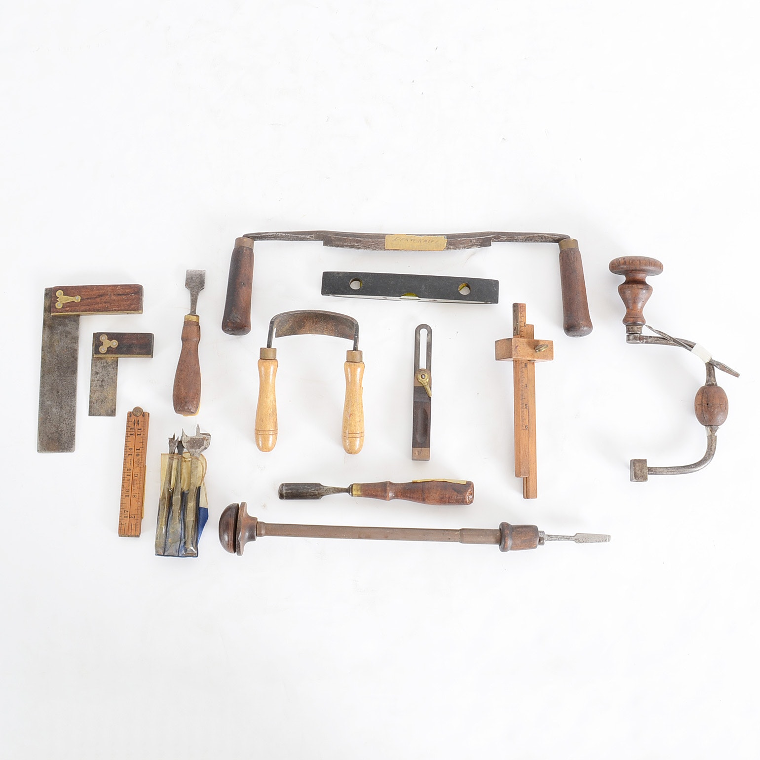 Collection of Antique Carpentry Tools