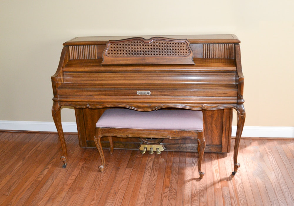 Kimball Upright Piano and Bench