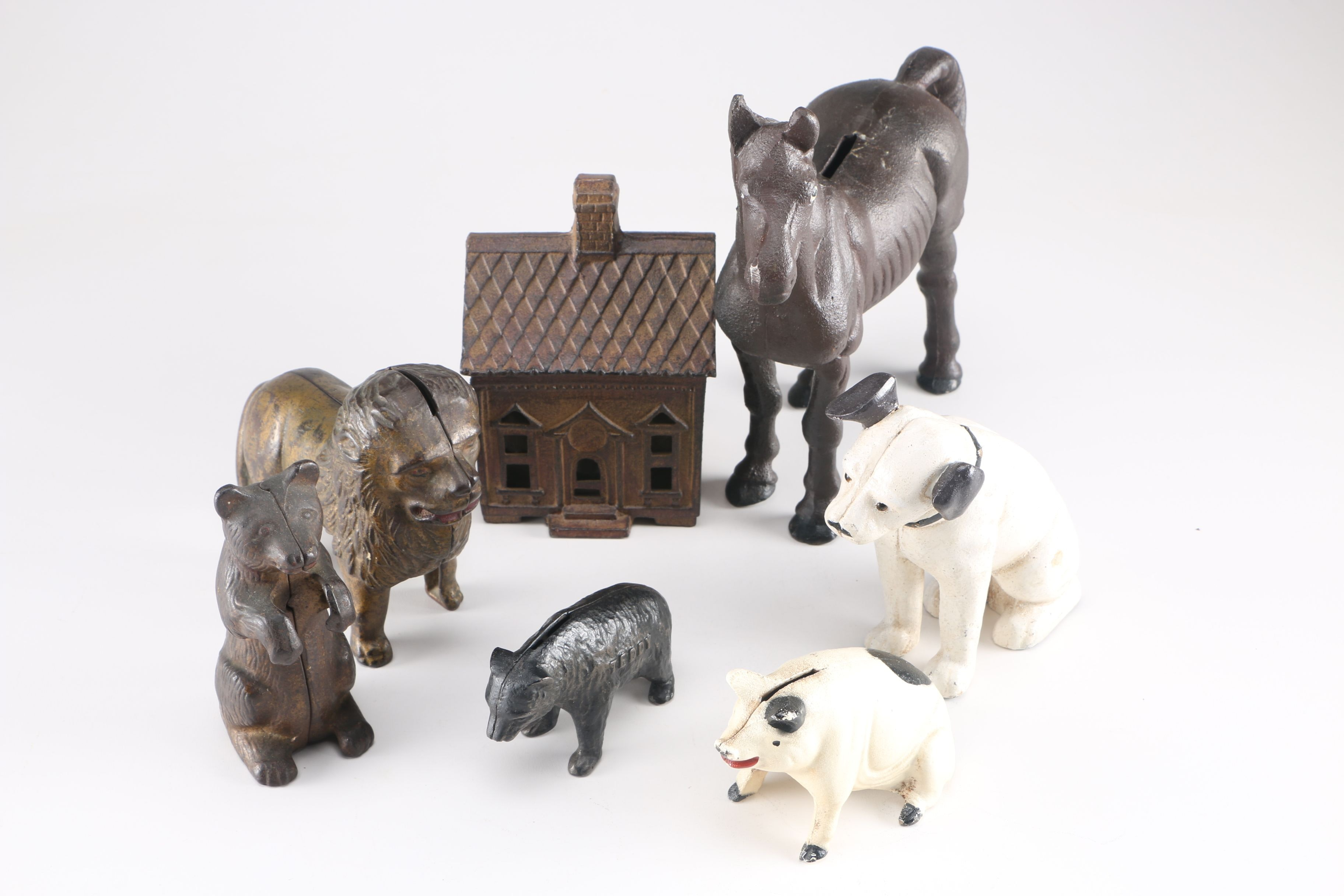 Cast Iron Bank Collection