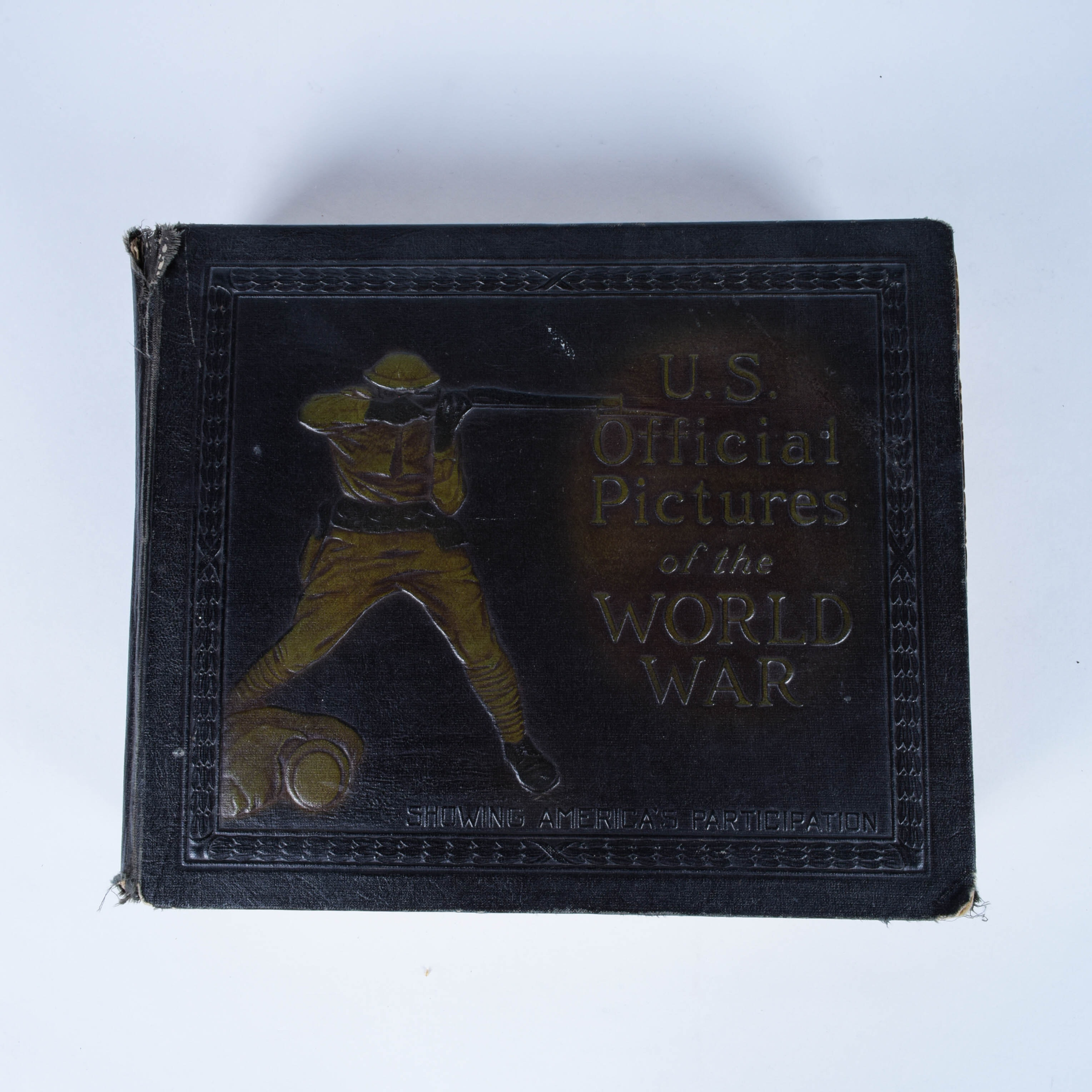 World War I Pictorial History Book