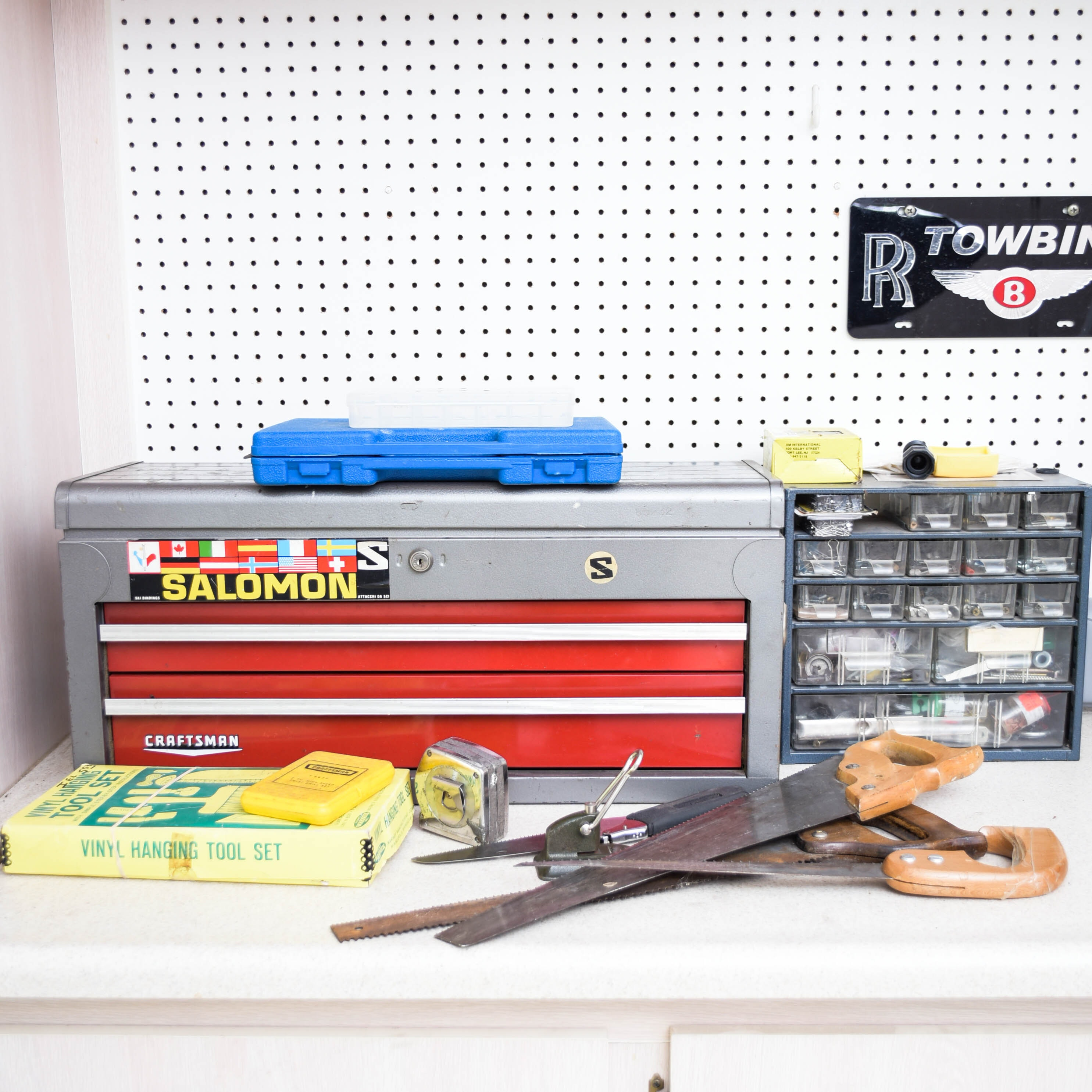 Tool Bench Cleanout