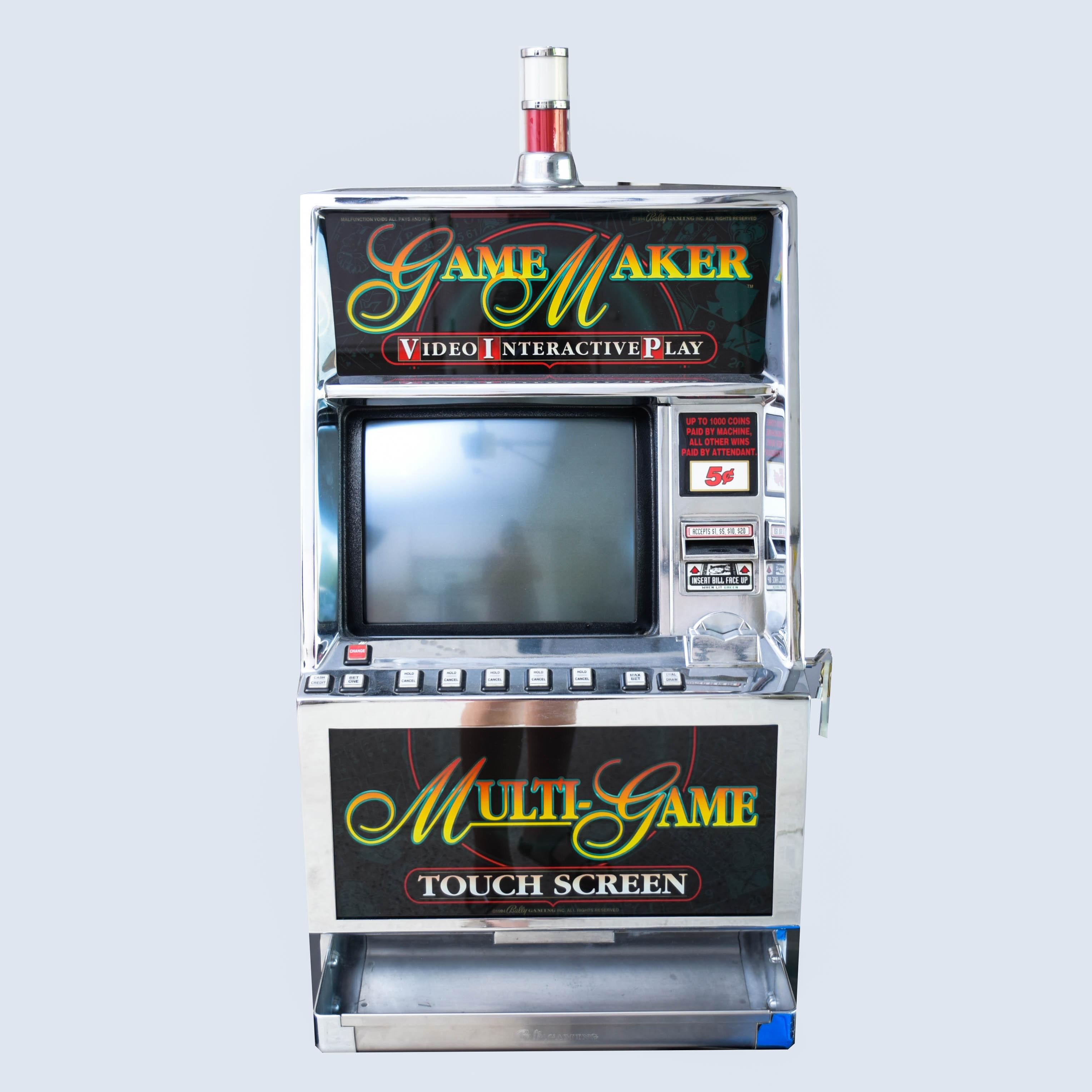 slot machine serial numbers