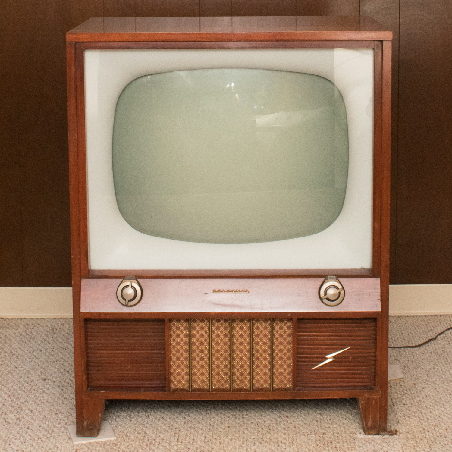1950s Sylvania Television With Halolight