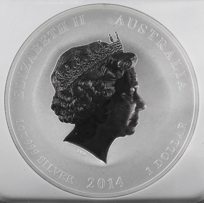 1 Oz Fine Silver One Dollar 2016