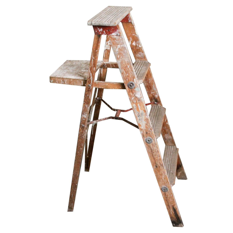 Vintage Wood Ladder