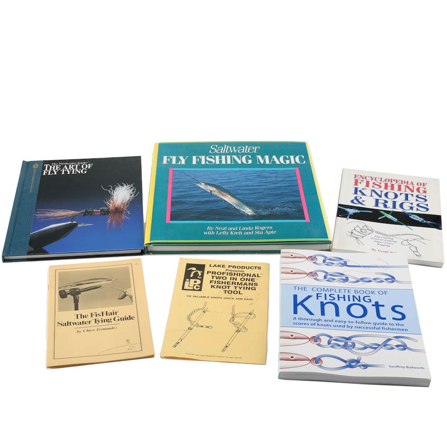 Fly Fishing And Fly Tying Books And Pamphlets Ebth