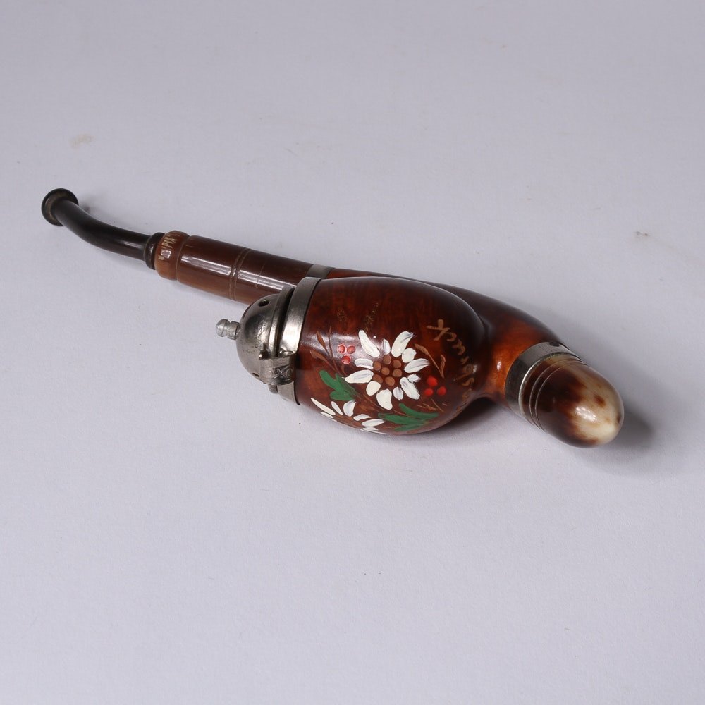Standard Old Briar Hooded Tobacco Pipe