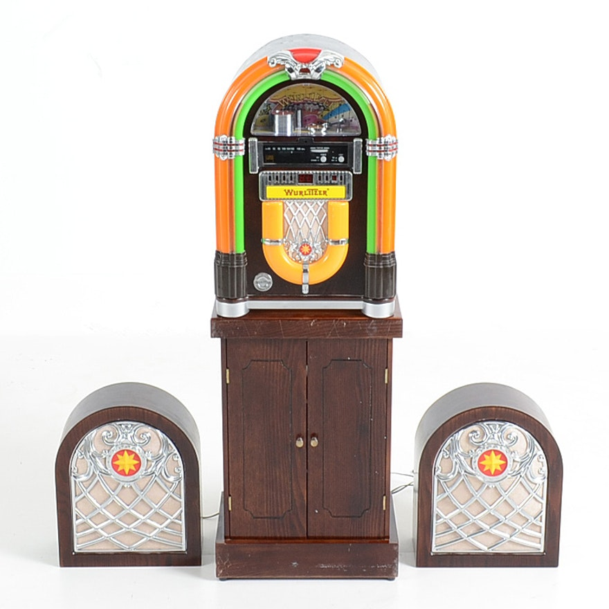 Crosley WR-18 Wurlitzer Jukebox Radio & CD Storage Cabinet - WVXU