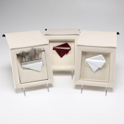 Collection Of Cor Sine Labe Doli Ceramic Pocket Squares