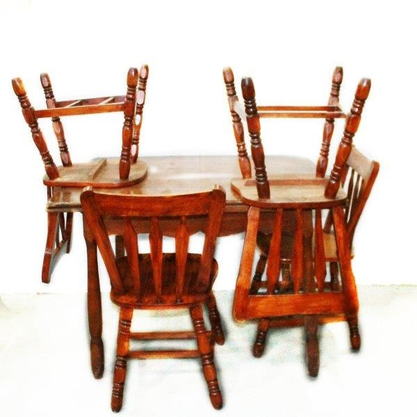 vintage stendig teak slab dining table ebth