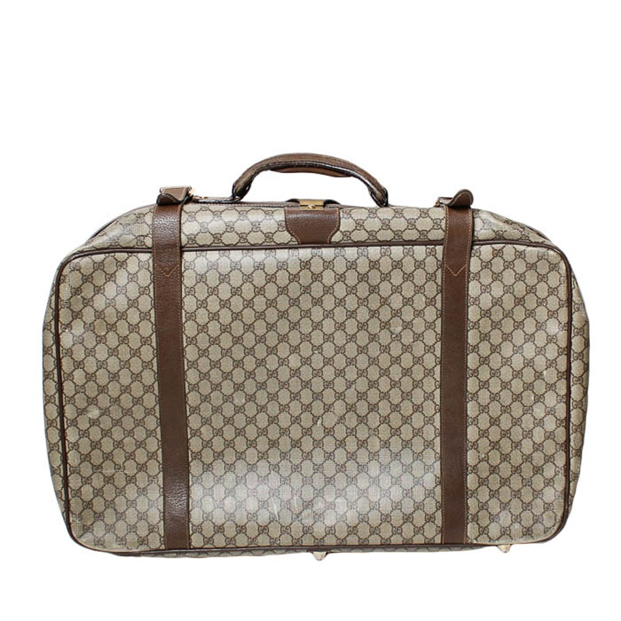 bd9dd5a3d5b Vintage Gucci Suitcase   EBTH