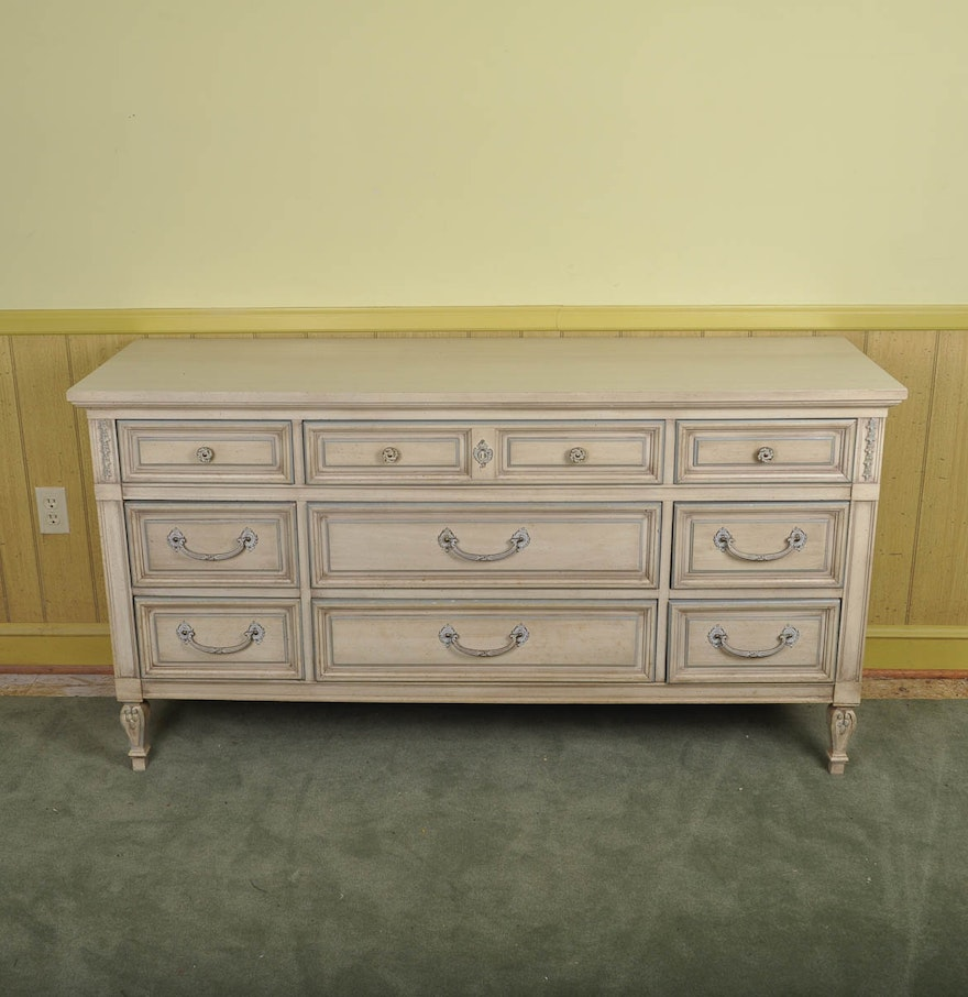 Vintage Dixie Furniture Dresser ... - Vintage Dixie Furniture Dresser : EBTH