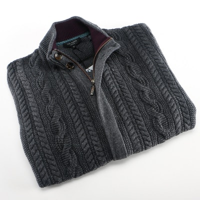 Ted Baker Zippered Cardigan Sweater