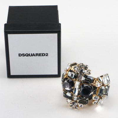 Dsquared2 Cuff Crystal Bracelet