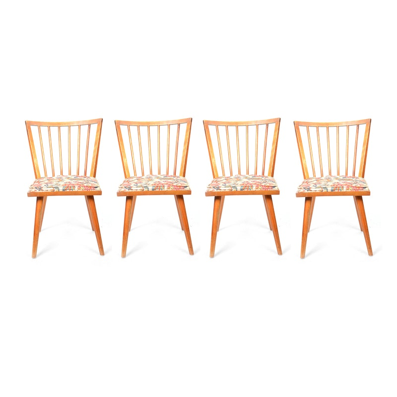 Set Of Dining Chairs By Conant Ball Furniture Makers Ebth
