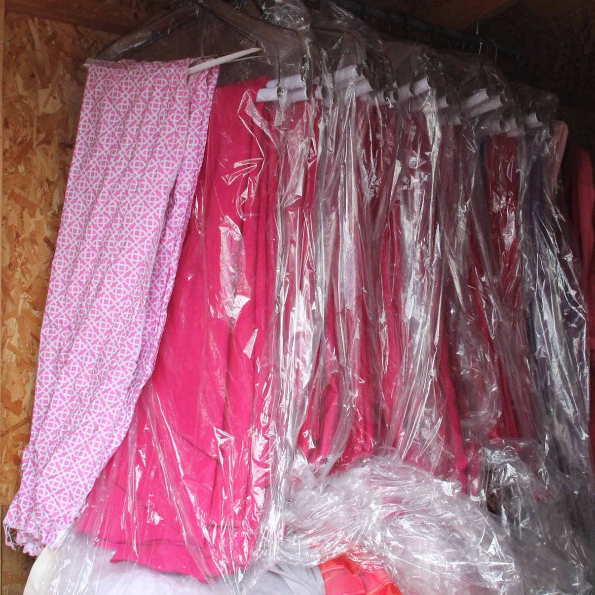 Collection of Fuchsia Tablecloths