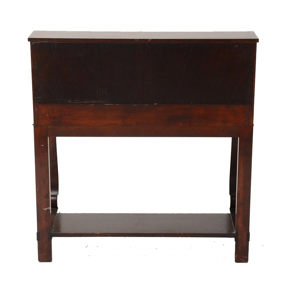 slant top writing desk