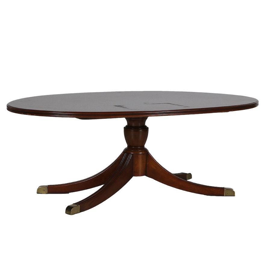 Lane Furniture Oval Coffee Table Ebth